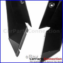 14-17 Corvette C7 Stingray Z06 Stage 3 Front Splitter Winglets Glossy Black