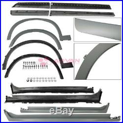 15-18 BMW X4 Full Body Kit Front Rear Bumpers Fender Flares Side Skirts M Style