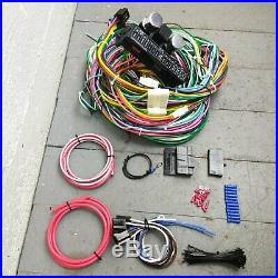 1937-1946 Chevy Under Dash 12V Conversion Wiring Harness 22 Circuit Upgrade Kit