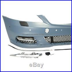 2007-2011 Mercedes Benz S Class W221 Front Fascia Bumper Cover No Sport Body Kit