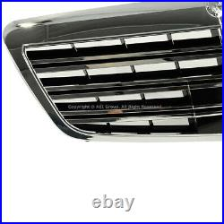 2007-2013 MB S Class W221 Front Fascia Bumper Cover w Grille AMG Style Body Kit