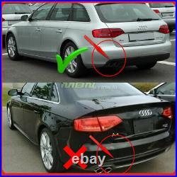 2009-2012 Audi A4 S4 Style Rear Diffuser Bumper Valance Body Kit Conversion Trim