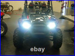 2009-2012 HONDA BIG RED 35w HID UPGRADE HEADLIGHT Conversion Kit MUV700