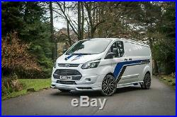 2018 FORD TRANSIT CUSTOM BODY STYLE KIT Bumpers, spoiler upgrade conversion
