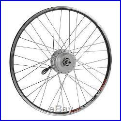 36V350W 28(700c) Wheel E-bike Rear Hub Motor Conversion Kit E-bike Kit Upgrade