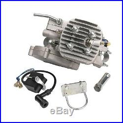 80cc Motorized 2-Stroke Upgrade Bike Conversion Kit DIY Gas Engine Bicycle Motor
