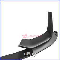 Black Front Lip Splitters For BMW M3 M4 15-18 M Performance Style F80 F82 F83