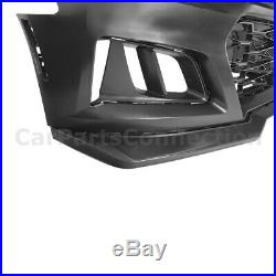 Chevy Camaro 16-18 ZL1 Style Front Bumper Cover with Badgeless Grille Upper Insert