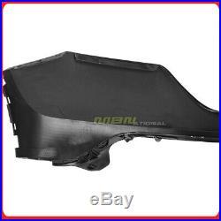 Complete Front Bumper Kit For Honda CRV CR-V 07-09 Upper Lower Fascia Trim Cover