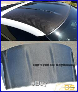 EOS Top Roof OVERLAY CARBON FIBER Cover For 14-19 Chevy Corvette C7 2Dr Coupe