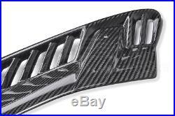 For 14-19 Corvette C7 GM Z06 CARBON FIBER Front Bumper Side Fender Grille Vents