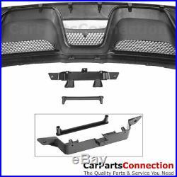 For Mustang 2015-2017 GT350 Rear Bumper Diffuser Spoiler Splitter Muffler Tips