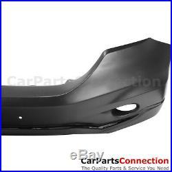 Front Bumper Cover 10-11 For Honda CR-V CRV 2 Pcs Fascia Kit Upper Lower Valance