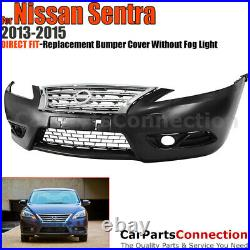 Front Bumper Cover Conversion Grille For Nissan Sentra 2013-2015 JDM Style Sedan