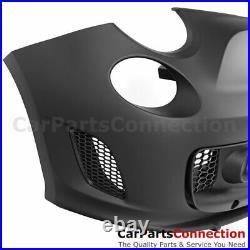 Front Bumper Cover Turbo Style For 2012-2019 Fiat HB 2 Door Full Kit 500C 500