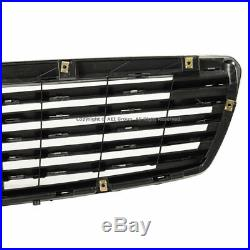 Front Bumper Insert Upper CHROME Grille For 03-06 MB W211 E-Class Sedan / Wagon