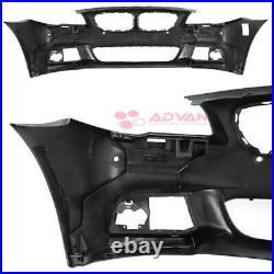Front Bumper M Sport Style M-Performance Lip Kit For BMW 5-Series 11-13 F10