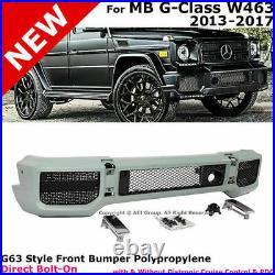 G63 Front Bumper Cover Kit G-class G-wagon Amg Body Kit G65 1990-2018 Brand New