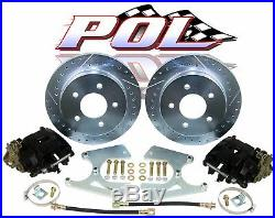GM 10 & 12 Bolt Rear Disc Brake Conversion Kit with FREE Upgrades