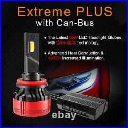 H3 LED Bulb Conversion Kit Upgrades PRO EXTREME PLUS Series 10,000lm