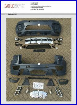 Hawke Range Rover Evoque Body Styling Kit Conversion Upgrade Quad