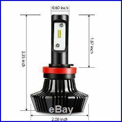JDM ASTAR 2x 8000Lm H11 LED Headlight Low Beam Fog Driving Light Bulb Cool White