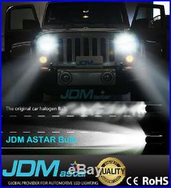 JDM ASTAR 8000LM 9005+9006 Combo LED Headlight Hi/Lo Beam Light Bulb 6000K White