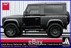 Land Rover Defender 90 KAHN Wide Track Arch Body Kit conversion upgrade mod