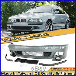 M5 Style Front Bumper Cover For BMW 5 Series E39 97-03 Conversion Kit Assembly