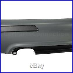 M5 Style Rear Bumper Cover Diffuser Kit For BMW 5 Series E39 Sedan 1997-2003