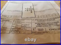 M939 Fuel Filter Seperator Conversion Kit Upgrade/ M809 M939A2 5 Ton