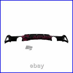 MP Style Glossy Black Rear Bumper Diffuser For BMW 4-Series F32 F33 F36 14-19