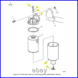 Military Truck Fuel Filter Seperator Conversion Kit M939 Upgrade/ M809 57K0251