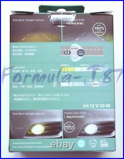 Philips Ultinon LED Kit White 6000K Fog Light H11 Two Bulbs Upgrade Replace Lamp