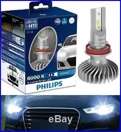 Philips X-Treme Ultinon LED 6000K White H11 Two Bulbs Head Light Replace Upgrade