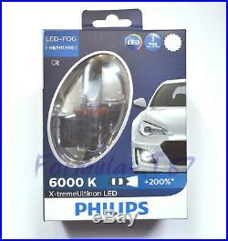 Philips X-Treme Ultinon LED Kit 6000K White H16 64219 Two Bulb Fog Light Upgrade