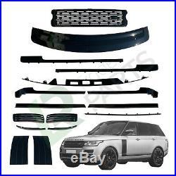 Range Rover L405 Vogue Stealth Gloss Black Pack Edition Upgrade Kit Grille Vents