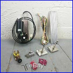 Studebaker Windshield Wiper Kit 12V Wire Harness Upgrade Conversion Washer LArk