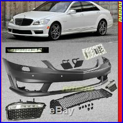 W221 07-13 Mercedes Benz S-Class S63 S65 AMG Style Front Fascia Bumper Cover Kit