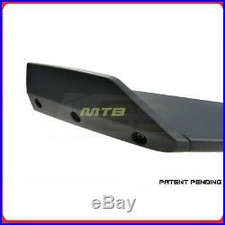 ZL1 1LE Style Black Primer Front Bumper Lip Spoiler For Chevy Camaro SS 16 17 18